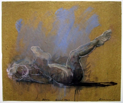 """One of the drawings culled from Tony Scherman's drawers for """"Intimate Drawings."""""""