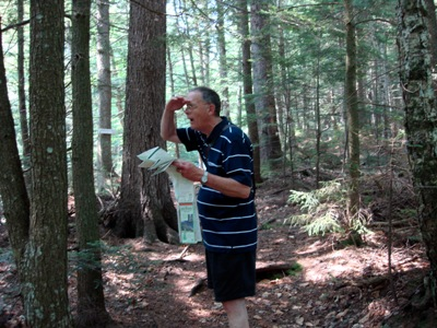 John Murchie finds his way throug the woods and museum vaults.