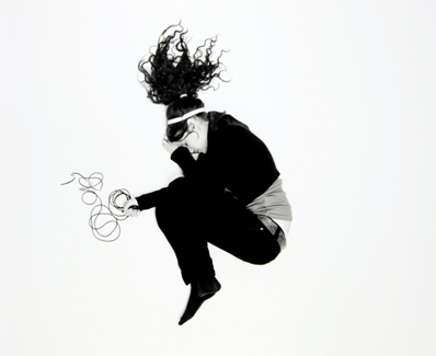 Jennifer Zimmer's self-portrait.
