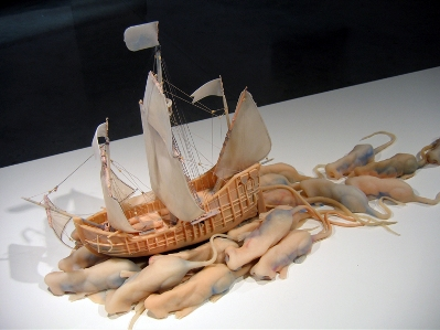"""Scott Yoell's """"Sometimes it came by road, other times it came by sea."""""""